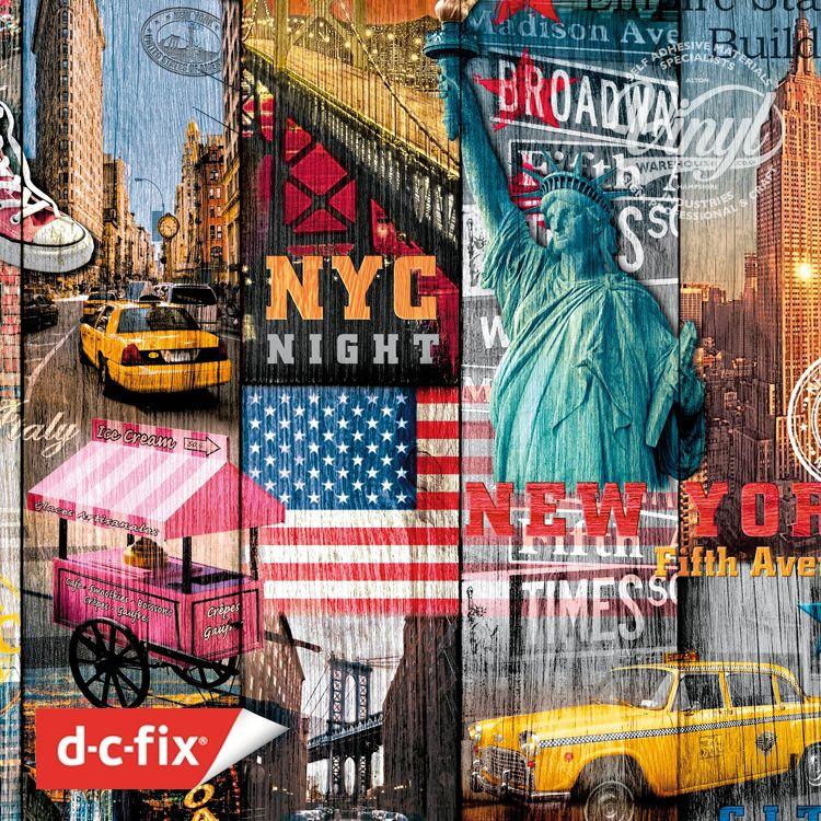 Самоклейка D-C-Fix (Манхэттен) 45см х 1м Df 200-3234 0