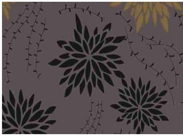 Самоклейка Hongda (Хризантемы) 45см х 1м H5534-1 0