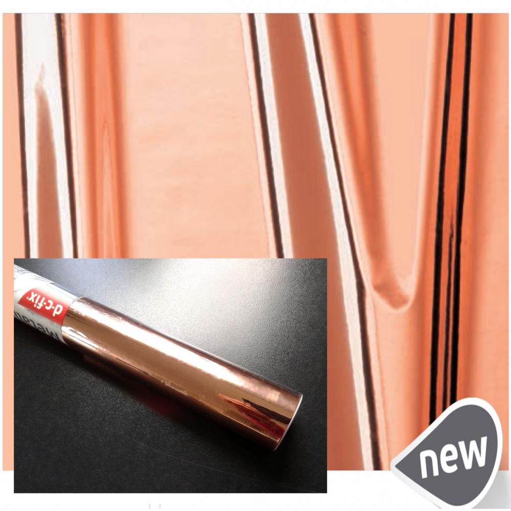 Самоклейка D-C-Fix (Розовое золото) 45см х 1м 201-4531 0