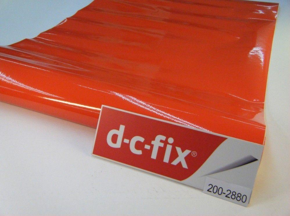 Самоклейка D-C-Fix 45см х 1м Df 200-2880 (Мандариновая) 0