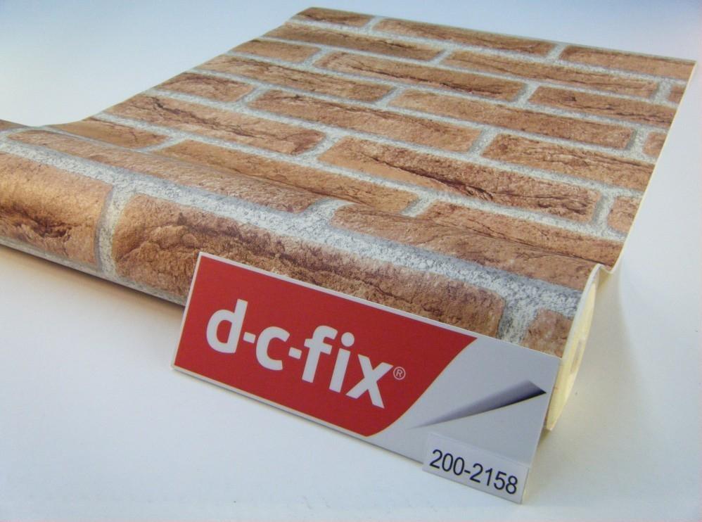 Самоклейка D-C-Fix (Коричневый кирпич) 45см х 15м Df 200-2158 0