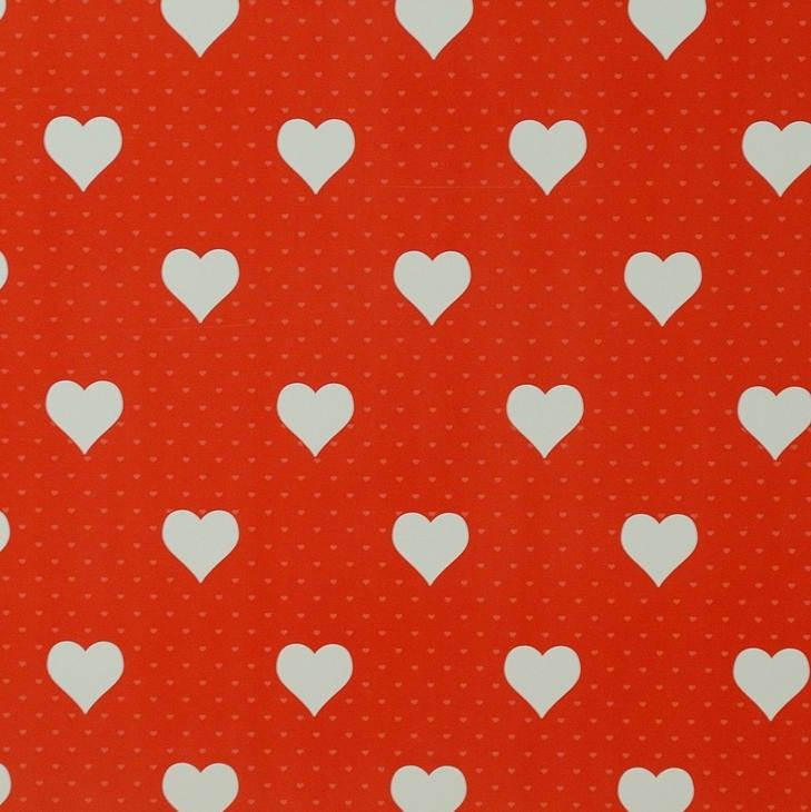Самоклейка D-C-Fix (Красное сердце) 45см х 15м Df 200-3222 0