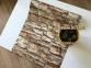 Самоклейка Gekkofix (Коричневый камень) 45см х 1м 10225 5