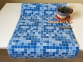 Самоклейка Patifix (Голубая мозаика) 45см х 1м 13-4555 4
