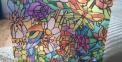 Самоклейка D-C-Fix (Стрекоза в цветах) 90см х 1м Df 200-5598 2