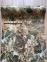 Самоклейка Hongda (Зеленый мрамор) 45см х 1м H5225-1 3