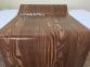Самоклейка Hongda (Тёмное дерево) 45см х 1м Hm010 2