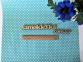 Самоклейка Patifix (Бирюзовый горошек) 45см х 1м 15-6215 4