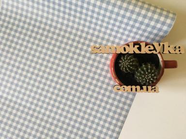 Самоклейка Patifix (Голубая клетка) 45см х 1м 15-6752