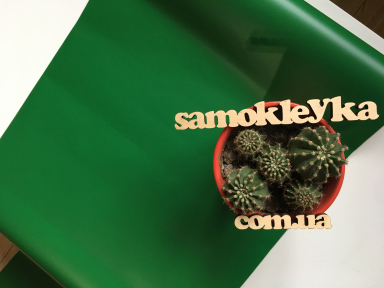 Самоклейка D-C-Fix (Тёмно-зелёная) 45см х 1м Df 200-0109