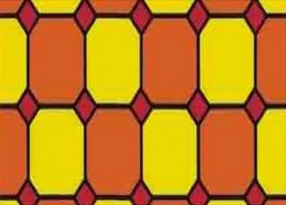 Самоклейка Hongda (Цветной витраж) 45см х 1м H9004