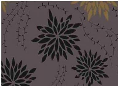 Самоклейка Hongda (Хризантемы) 45см х 15м H5534-1