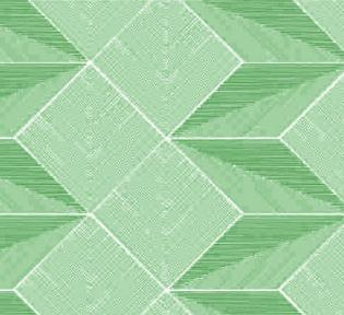 Самоклейка Hongda (Объемный ромб) 45см х 1м H6003 Green
