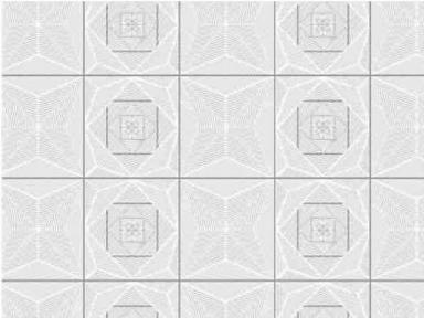 Самоклейка Hongda (Танцующий квадрат) 67,5см х 1м H6014