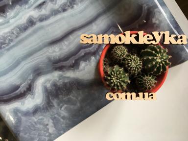 Самоклейка Hongda (Голубой мрамор) 67,5см х 1м Hm101-1
