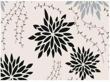 Самоклейка Hongda (Хризантемы) 67,5см х 1м H5534