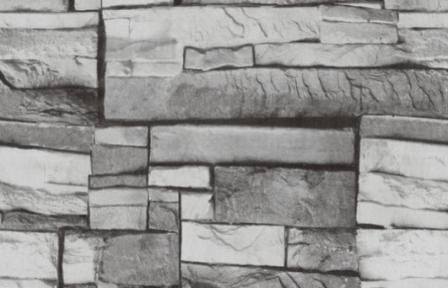 Самоклейка Hongda (Серый камень) 45см х 1м Hm207-2