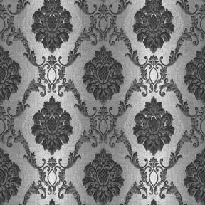 Обои Люкс серый с чёрным 1360 (0,53м × 10,05м=5,3м²)