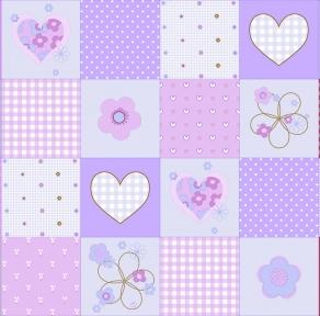 Обои Мирабелла фиолетовая 1352 (0,53м × 10,05м=5,3м²)