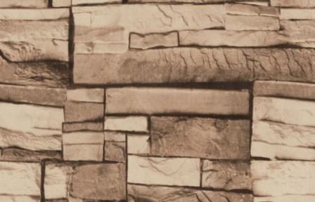 Самоклейка Hongda (Коричневый камень) 45см х 1м Hm207-1