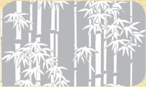 Самоклейка Hongda (Бамбук) 45см х 15м Ht066