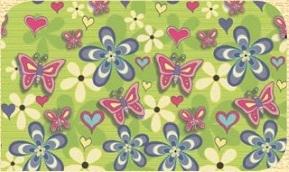 Самоклейка Hongda (Бабочки) 67,5м х 15м Ht067