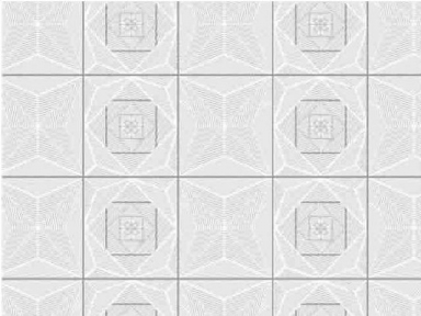 Самоклейка Hongda (Танцующий квадрат) 45см х 15м H6014