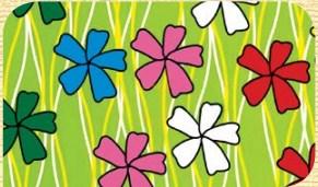 Самоклейка Hongda (Цветочки) 45см х 15м H5575
