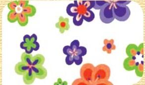 Самоклейка Hongda (Цветы) 45см х 15м H5520