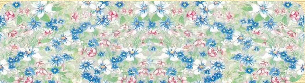 Самоклейка Hongda (Цветочное поле) 45см х 15м H5402