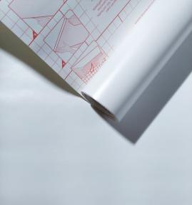 Самоклейка D-C-Fix 45см х 1м Df 200-0100 (Белая матовая)