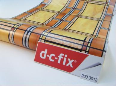 Самоклейка D-C-Fix (Коричневые окошки) 45см х 15м Df 200-3012