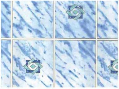 Самоклейка Hongda (Голубая плитка) 45см х 15м H5242