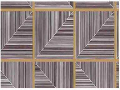 Самоклейка Hongda (Треугольные окошки) 45см х 15м H5245-1