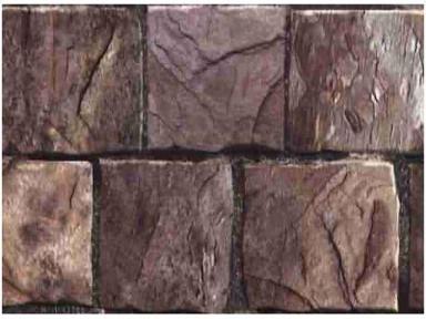 Самоклейка Hongda (Коричневый камень) 45см х 15м H5279
