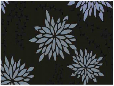 Самоклейка Hongda (Хризантемы) 45см х 15м H5534-2