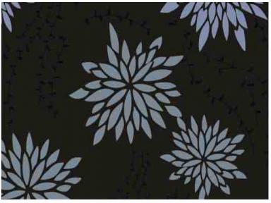 Самоклейка Hongda (Хризантемы) 67,5см х 15м H5534-2
