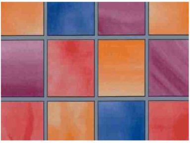 Самоклейка Hongda (Цветные окошки) 67,5см х 15м H5580