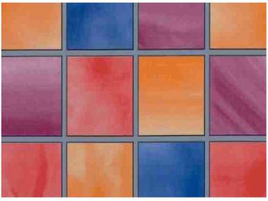 Самоклейка Hongda (Цветные окошки) 90см х 15м H5580