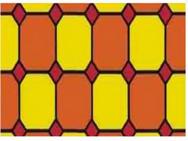 Самоклейка Hongda (Цветной витраж) 45см х 15м H9004