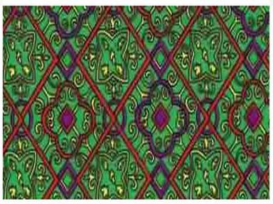 Самоклейка Hongda (Зеленый витраж) 45см х 15м H9007