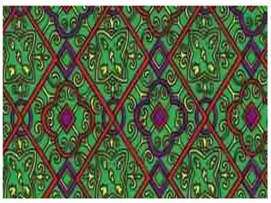 Самоклейка Hongda (Зеленый витраж) 67,5см х 15м H9007