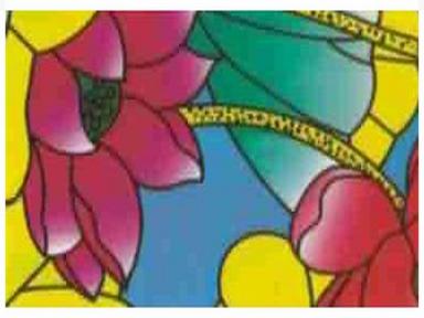 Самоклейка Hongda (Цветные цветочки) 67,5см х 15м H9015