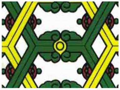 Самоклейка Hongda (Цветной витраж) 45см х 15м H9044