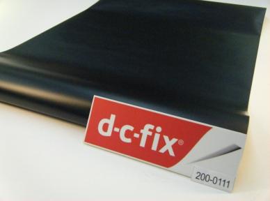 Самоклейка D-C-Fix (Чёрная) 45см х 15м Df 200-0111