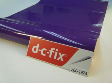 Самоклейка D-C-Fix (Фиолетовая) 45см х 15м Df 200-1974