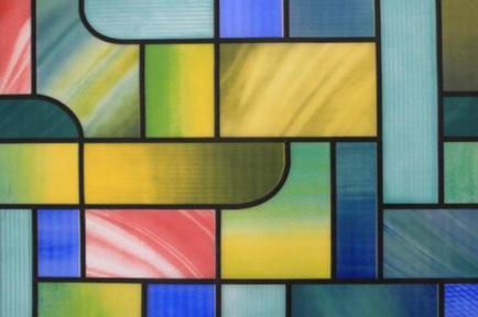 Самоклейка Hongda (Цветной лабиринт) 45см х 15м Ht031