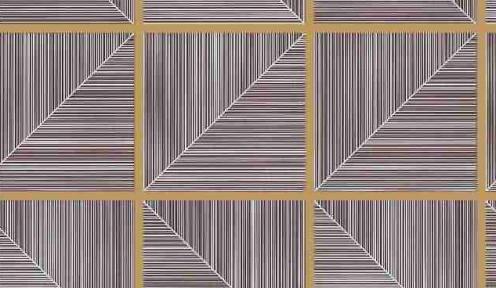 Самоклейка Hongda (Треугольные окошки) 67,5см х 15м H5245-1