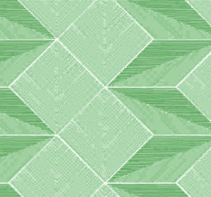 Самоклейка Hongda (Объемный ромб) 67,5см х 15м H6003 Green