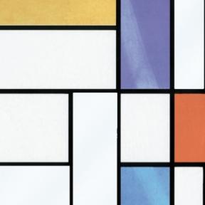 Самоклейка Gekkofix (Цветное стекло) 90см х 15м 10277